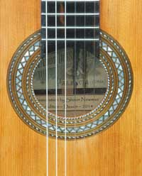 Salvador Ibanez classical guitar 1928 restoration